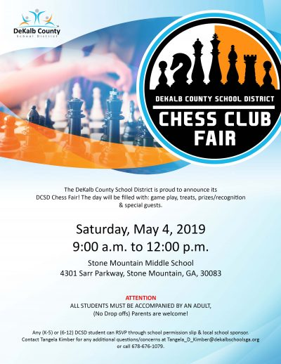 2019 chess fair flyer