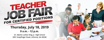 July 2019 Job Fair