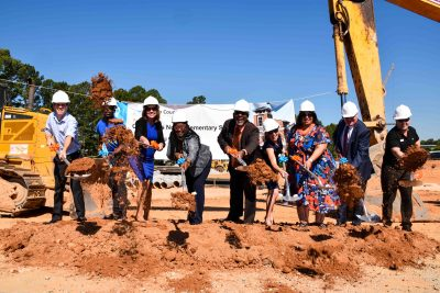 DCSD and Doraville officials break ground