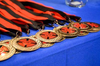Firefighter Academy medals