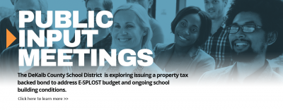 ESPLOST Public Input Meetings 2019