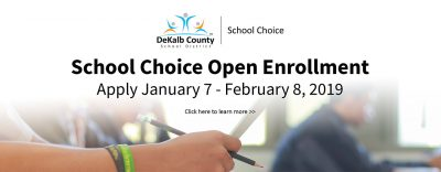 2019 school choice open enrollment
