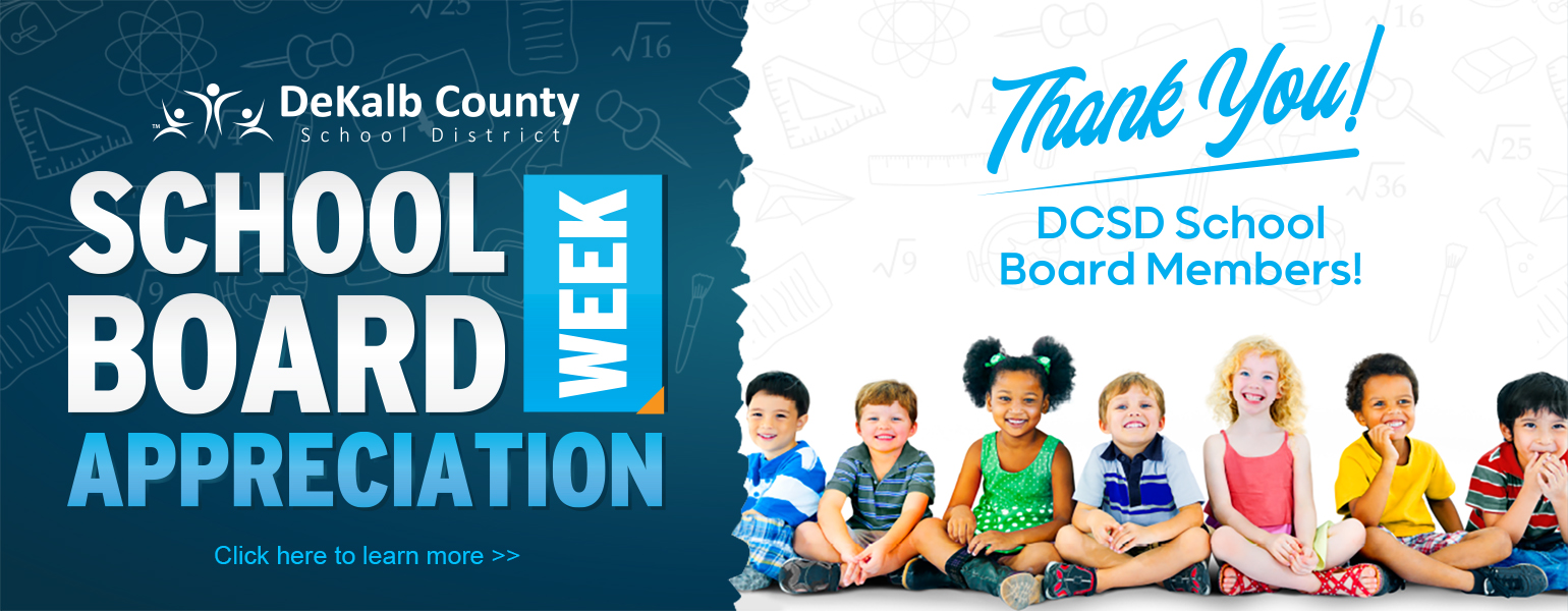 School board appreciation week graphic banner