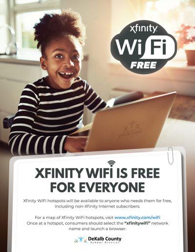 xfinity free wifi flyer