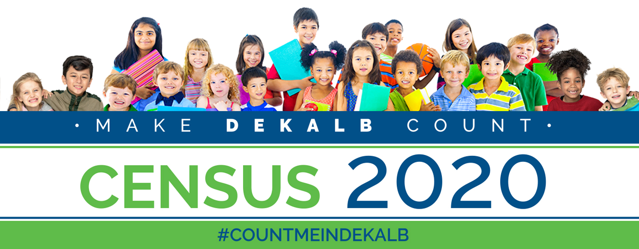 Dekalb Census 2020 Webb Banner
