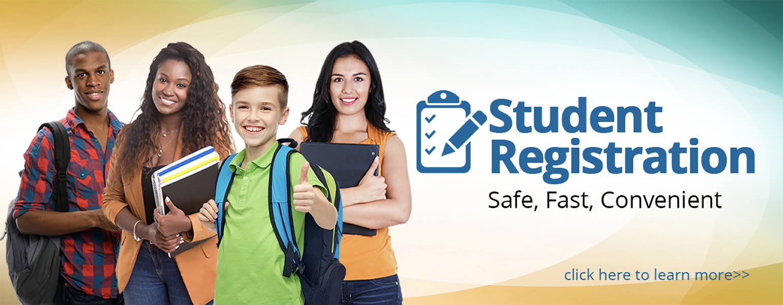 Schools registration Web Banner