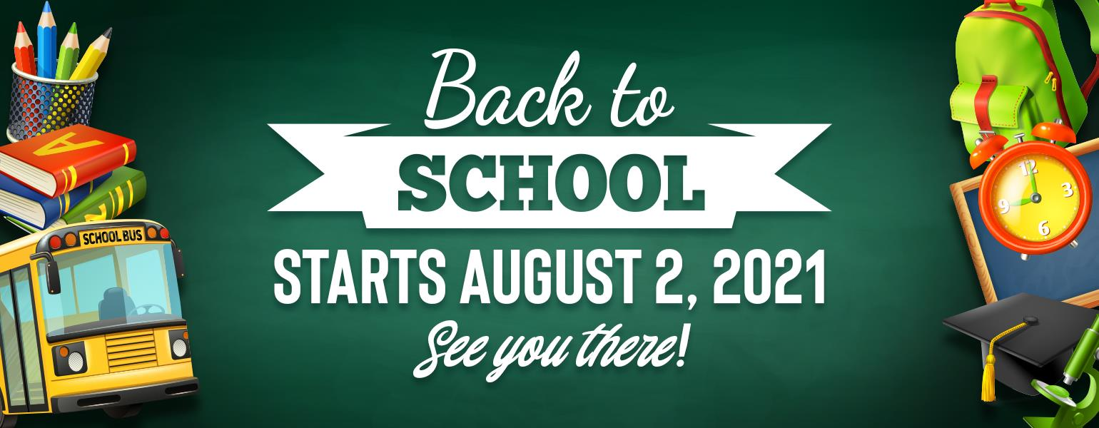 2021 Back to School DCSD web banner image