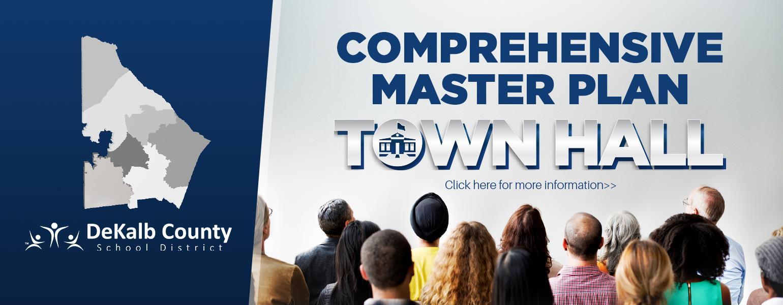 comprehensive master plan town hall banner